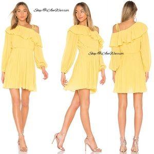 Revolve EndlessRose NWT pleated one shoulder dress